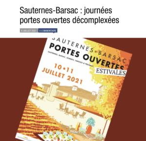 JPO Sauternes Barsac Terre de Vins
